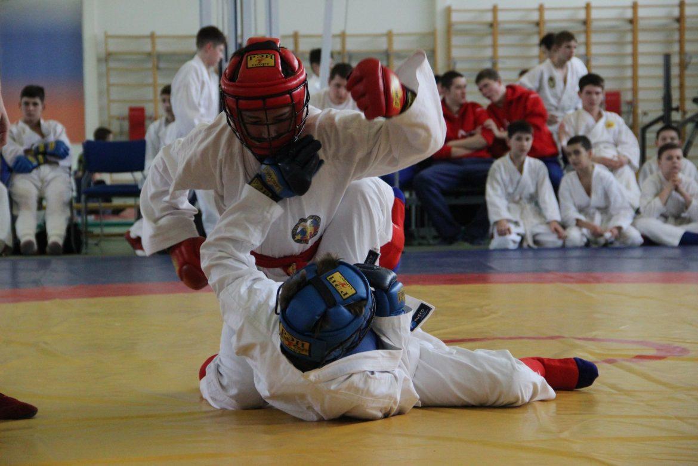В Выселках прошли соревнования по АРБ среди казаков