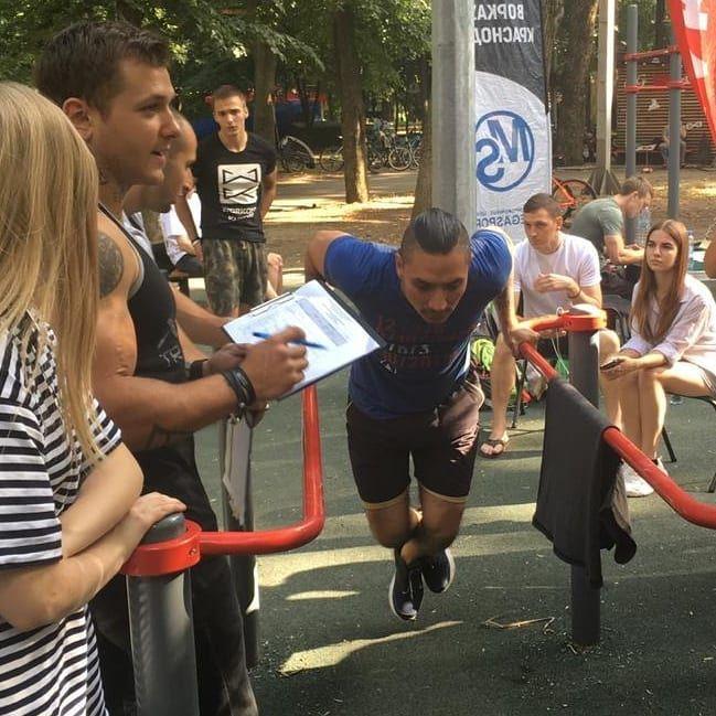 В Краснодаре устроили чемпионат среди молодых экстремалов