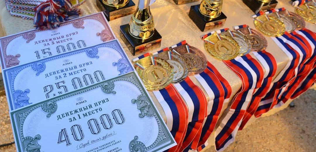 Открытый чемпионат по конкуру устроили в Крымском районе