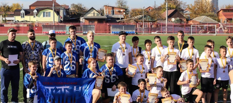 «Бизоны» и «Титаны» поборолись за Кубок ЮФО по флаг-футболу в Краснодаре